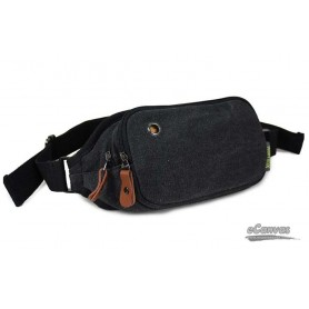 black security fanny pack