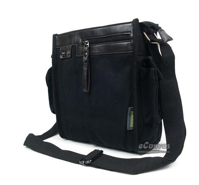 Canvas messenger bags for school coffee, black biking messenger ...