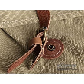 Rugged backpack khaki