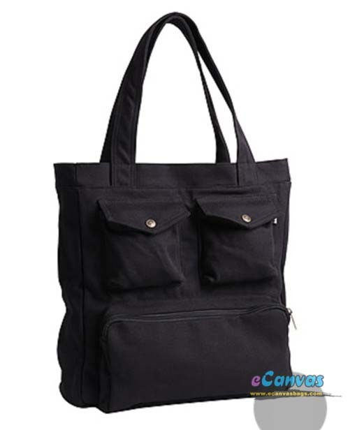 Large tote bag for travel, womens shoulder bag - E-CanvasBags
