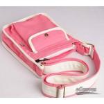 pink Long strapped shoulder bag