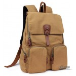 14 laptop backpack khaki, black students bag, yellow book bag