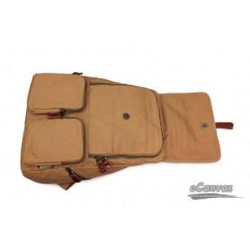 canvas 14 laptop backpack khaki