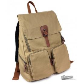 khaki book bag