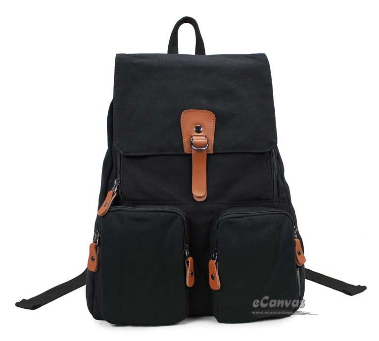 14 laptop backpack khaki, black students bag, yellow book bag - E ...