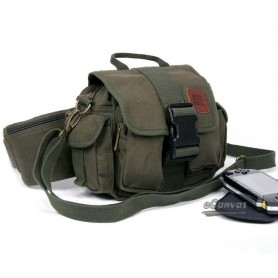 army green Canvas bag for men and women