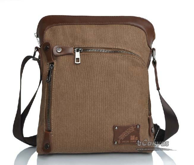 Ipad retro bag men khaki, coffee awesome messenger bag - E ...