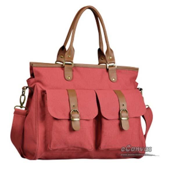 Canvas messenger bag women khaki, 14 inch laptop handbag blue - E ...