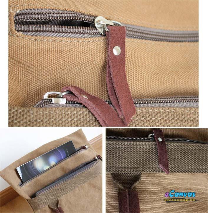 Korean female leisure canvas Messenger bag