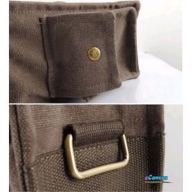 Leisure canvas handbag