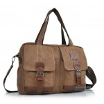 Trendy travel bag, coffee funky laptop bag