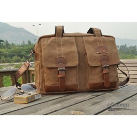canvas coffee funky laptop bag