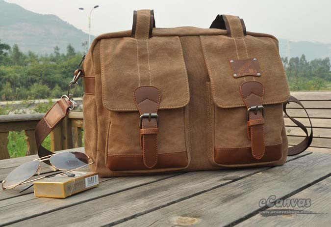 2b2fe7d52287 Trendy travel bag, coffee funky laptop bag - E-CanvasBags