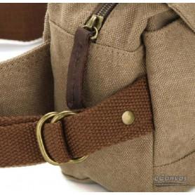 khaki Canvas fanny pack