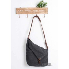 grey Funny messenger bag
