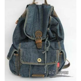 navy walking backpack