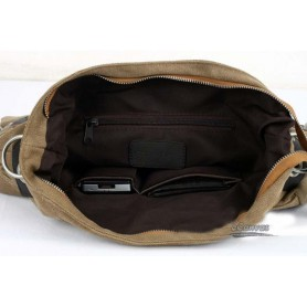canvas sports messenger bag