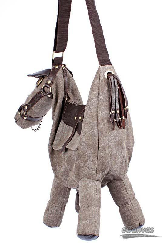 Canvas Horse Bag Creative Messenger