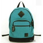 Everyday backpack, blue fashionable backpack