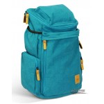 Funky backpack blue, 15 laptop backpack black