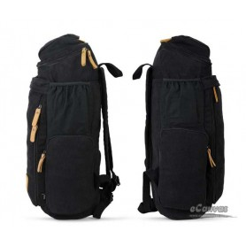 canvas 15 laptop backpack black