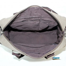 Canvas utility bag high-capacity