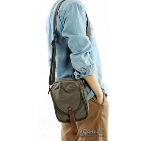 canvas Bag for men army green