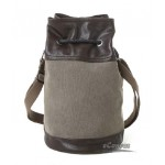 Black canvas messenger bag, best bag