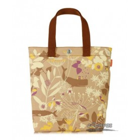 khaki grocery bag canvas