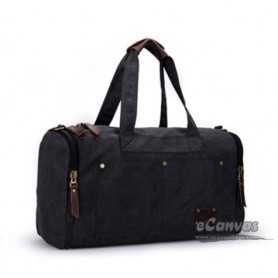 black personalized travel bag