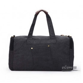 black Mens weekend travel bag