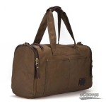 canvas Mens weekend travel bag