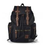 Hiking backpack black, blue mens backpack