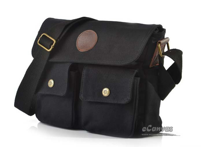 Over the shoulder bag black, khaki messenger bags for college - E ...
