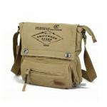 IPAD crossbody messenger bag black, army green eco friendly messenger bag