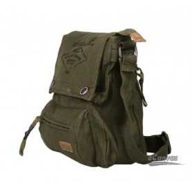 IPAD crossbody messenger bag army green
