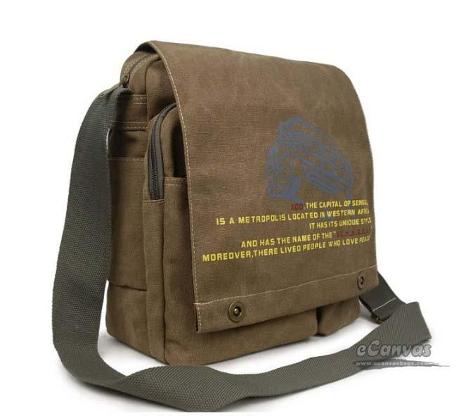 Cheap canvas messenger bag black, coffee cool messenger bag for ...