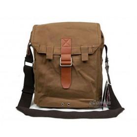 Fashionable messenger bag coffee