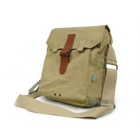 Fashionable messenger bag beige, coffee funky messenger bag