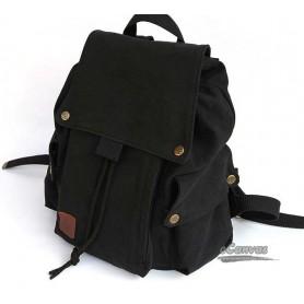black Canvas drawstring bags