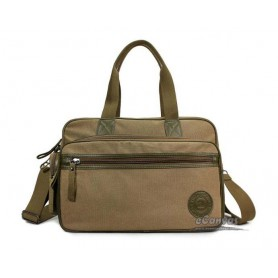Travel bag for men khaki, black men messenger bag