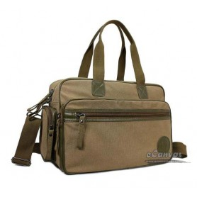 khaki men messenger bag