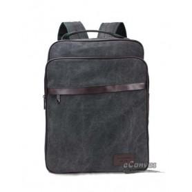 black backpack in school