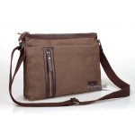 Mens messenger bags canvas, coffee mens shoulder bag