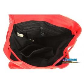 red travel backpacks
