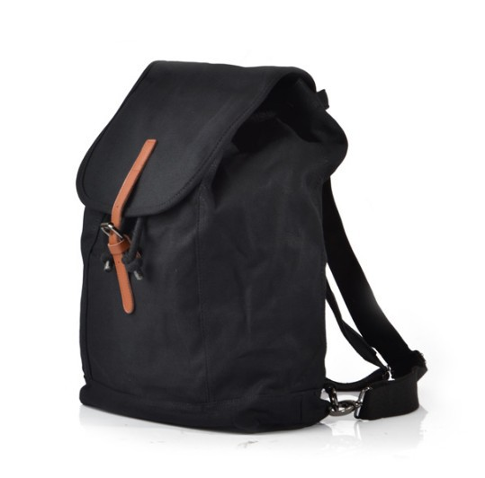 Urban Backpack Black Khaki Womens Backpack E Canvasbags