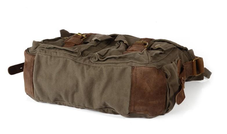 bc912404557c ... army green messenger bag ...