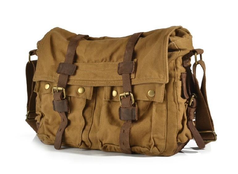 496d8d1f3ce4 ... army green messenger bag  Khaki messenger bag ...