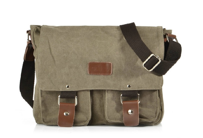 Ipad male messenger bag black, coffee mens canvas messenger bag ...