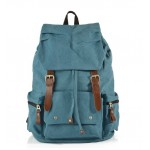 School backpack, khaki recycled backpack